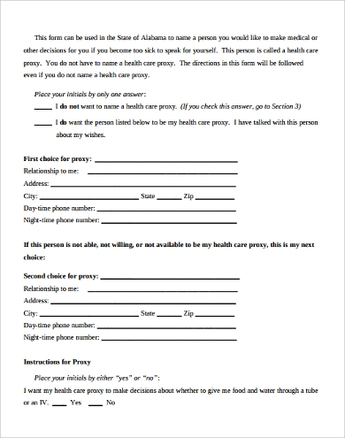 7+ Sample Health Care Proxy Forms | Sample Templates on sample deed form, sample commitment form, sample service form, sample delivery form, sample power of attorney form, sample bill of lading form, sample nomination form, sample web form, sample bond form, sample application form, sample schedule form, sample access form, sample html form, sample check form, sample budget form, sample living will form, sample claim form,