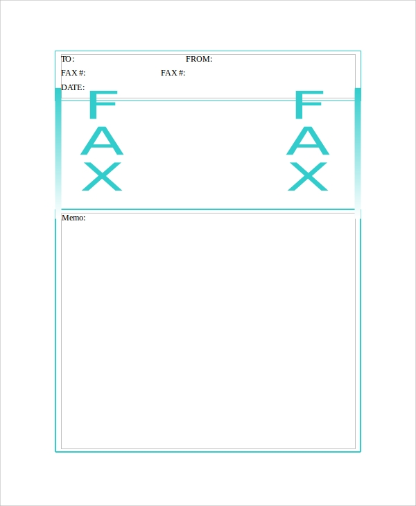 generic blank fax cover sheet download