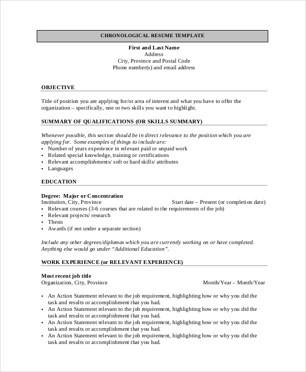 Currently Working Resume Format Pdf: General Resume Objective Sample