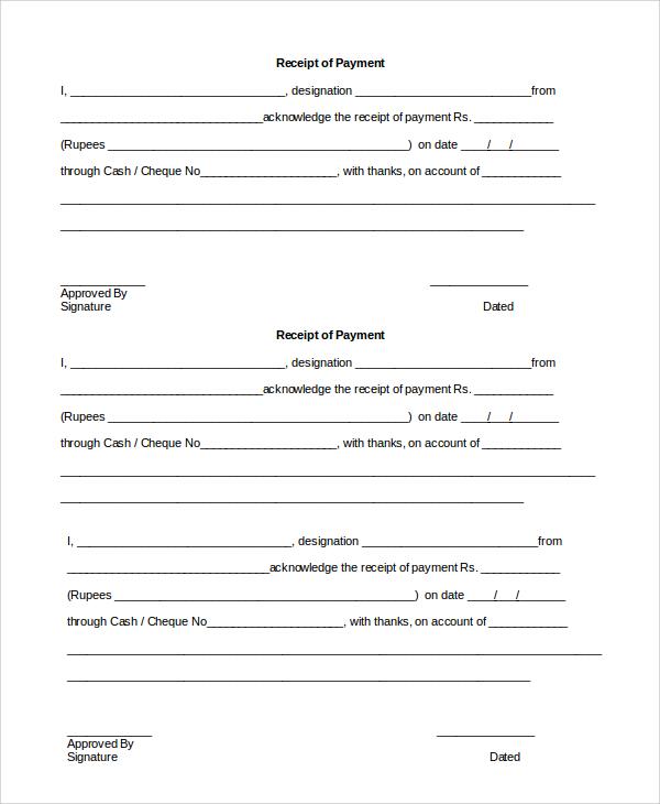 payment receipt format in word - Heart.impulsar.co