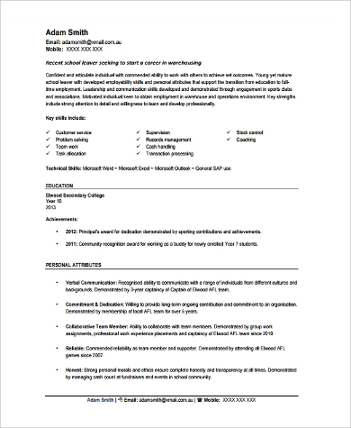warehouse worker resume - geminifm.tk