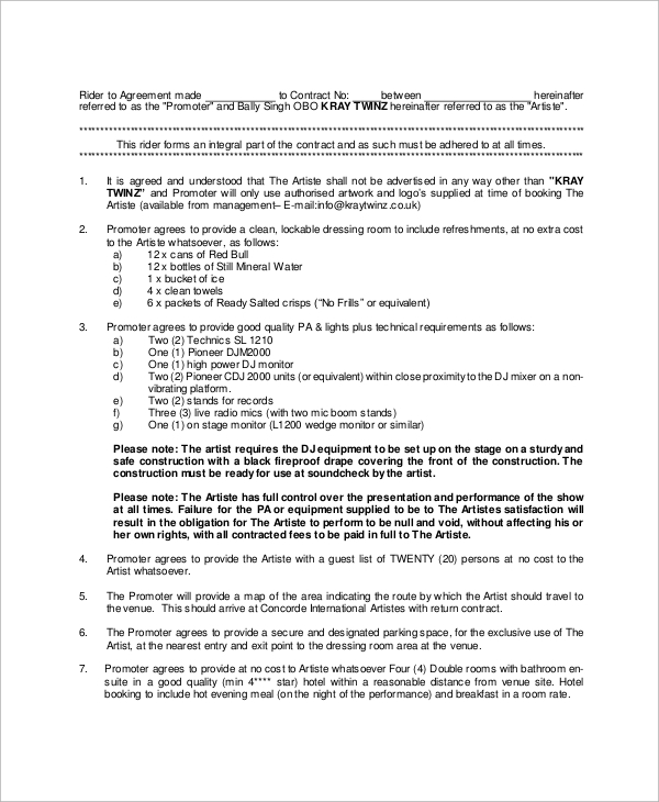dj management contract1