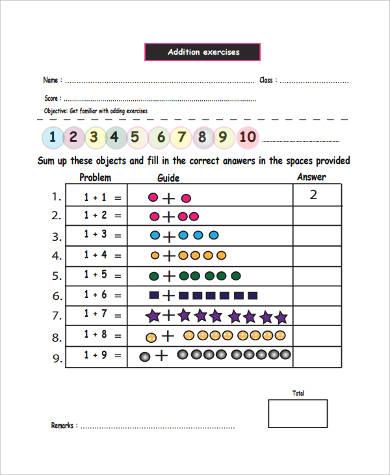 sample printable preschool worksheet 9 examples in word pdf. Black Bedroom Furniture Sets. Home Design Ideas