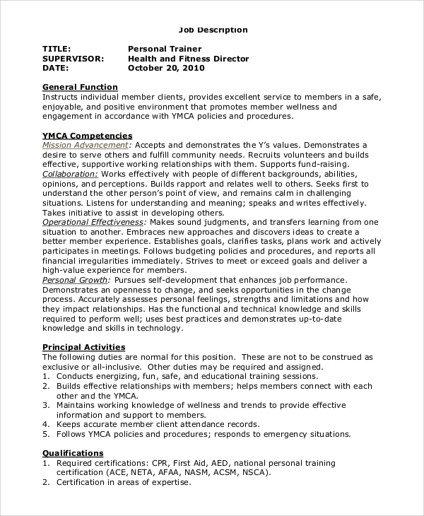 Digital marketing officer job description the officer for Training officer job description template