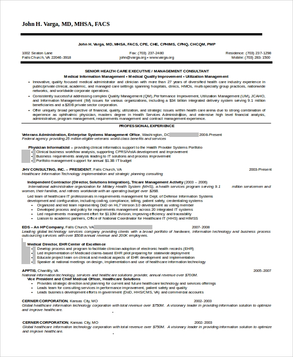 information technology resume format doc 28 images
