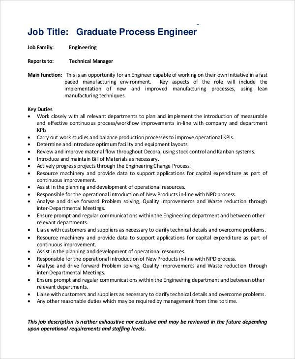 Field Engineer Job Description and Duties - dinosauriens.info