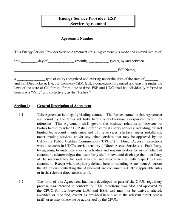 Sample Service Agreements PDF Word Sample Templates - Exclusive service agreement template