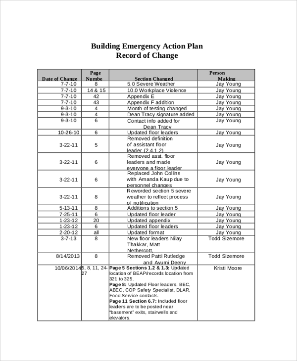 46 Sample Action Plans Sample Templates