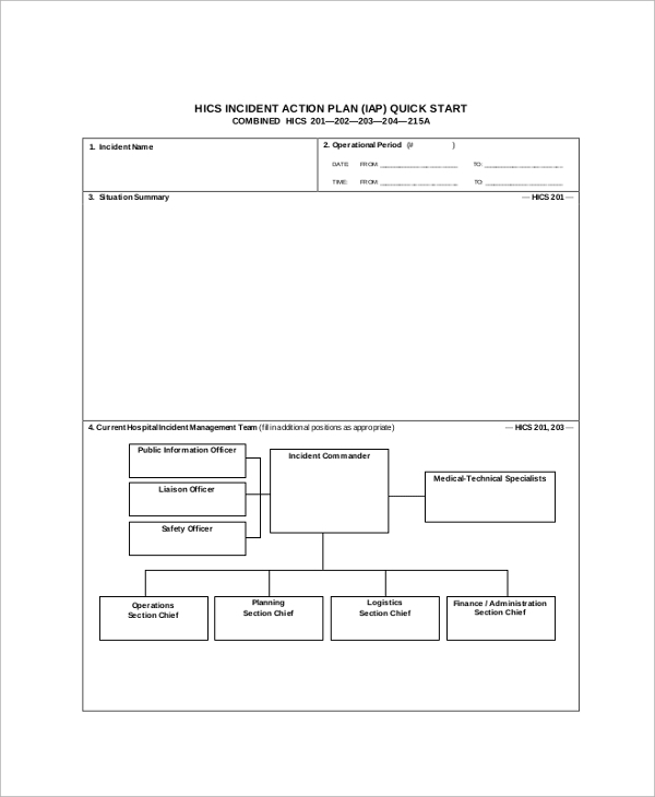 Sample Action Plans   Examples In Pdf Word