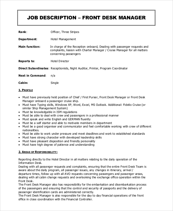 sales supervisor resume template sample example job description