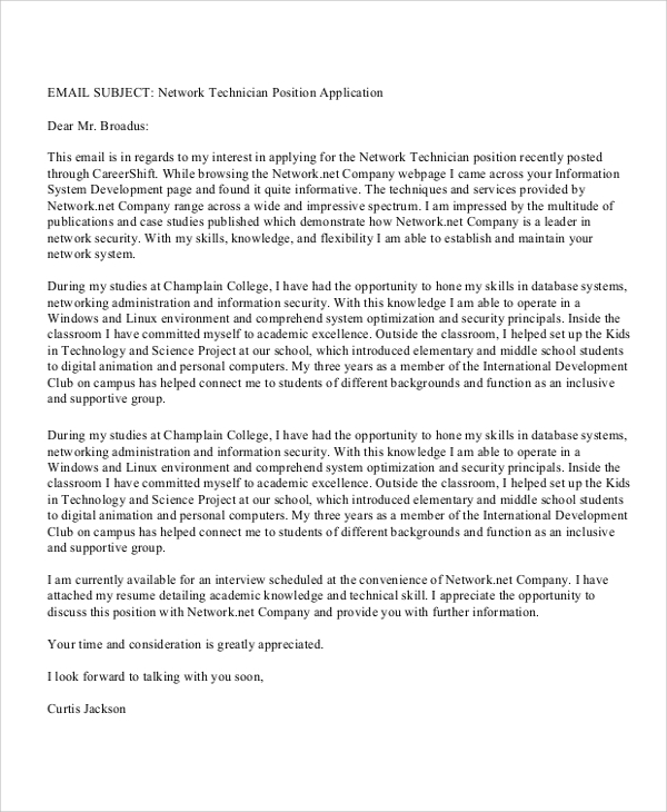 it resume cover letter sample