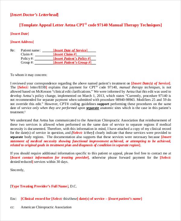 doctor's letterhead format sample