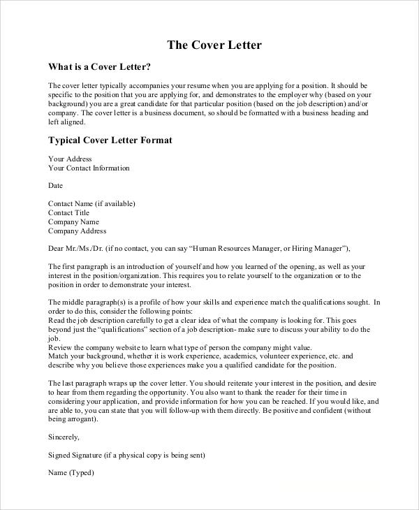 Cover Letter For Hr Business Partner Job Application