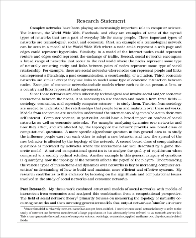 how to write a research statement for phd application