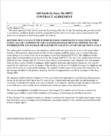blank rental contract pdf