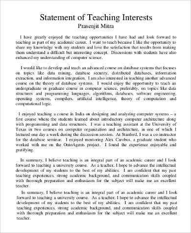 Undergraduate personal statement sample essays
