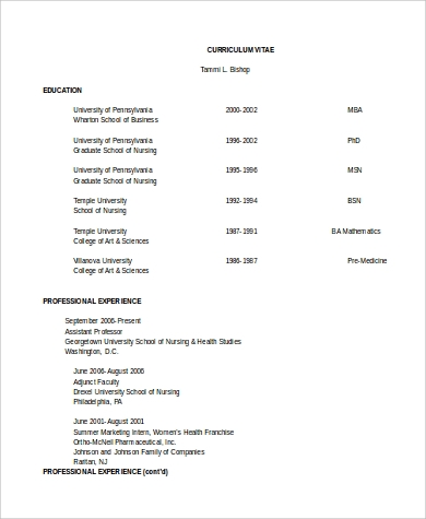 Sample Clinical Nurse Manager Resume   Examples In Pdf Word