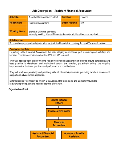 Practice Assistant Job Description  Financial Assistant Job Description