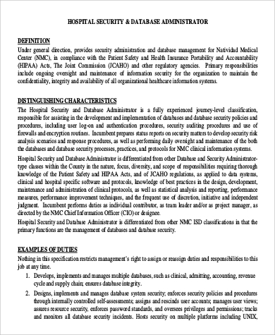 Administrator Job Description Contract Administrator Job