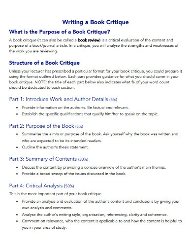sample book writing template