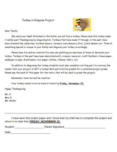 turkey writing sample