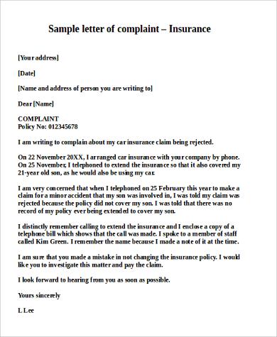 Resume insurance claim letter format sample letter appeal medical claim doc professional expocarfo Choice Image