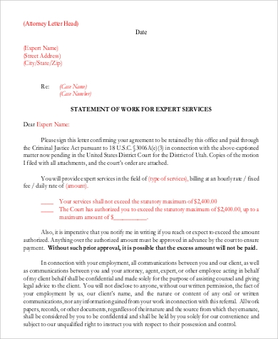 professional attorney letterhead