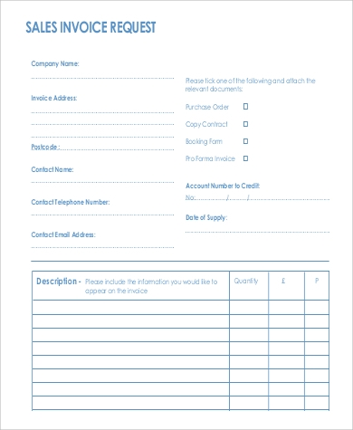 Sample Sales Invoice   Examples In Word Pdf
