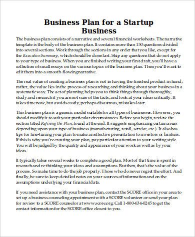 business plan proposal format