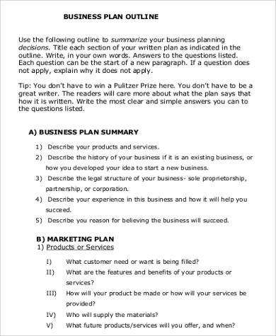 sample business proposal outline - Sample Business Proposal