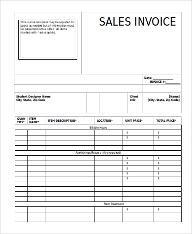 Free 12 Sample Sales Invoices In Ms Word Pdf