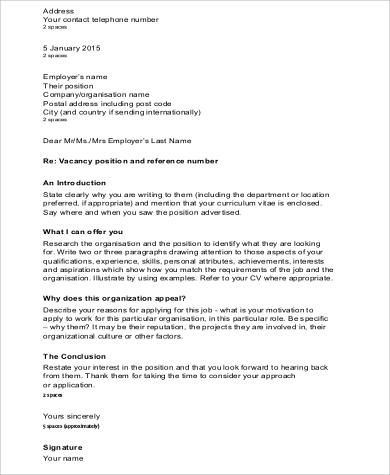 8 cover letter salutation samples sample templates