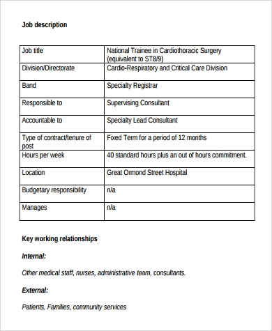 cardiologist surgery job description