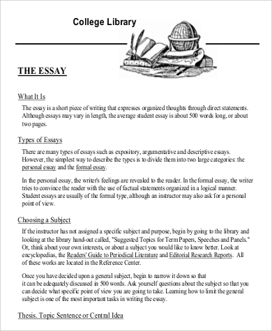 types of papers in college A guide about formatting college essays and some style tips for writing excellent college essays.