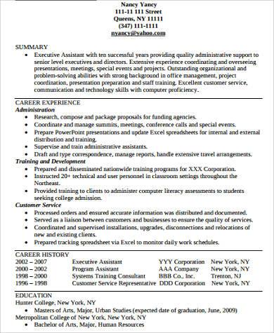 college graduate functional resume