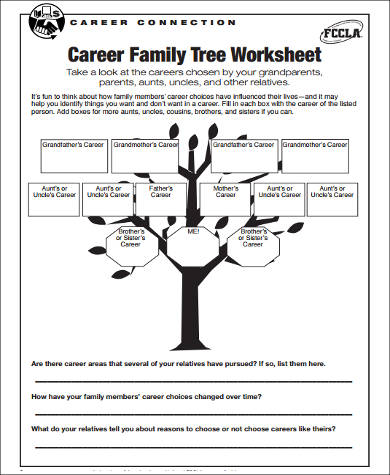career family tree sample