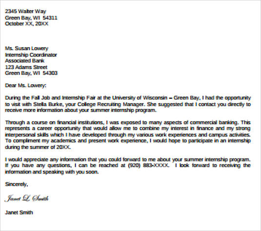 Professional Work Reference Letter Example