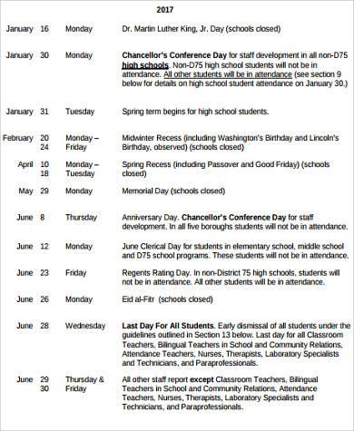 school year calendar pdf