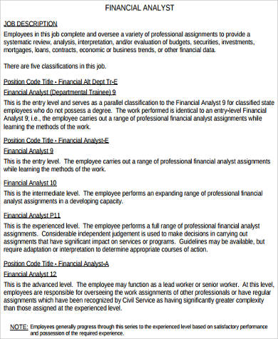 Sample Finance Resume - 11+ Examples In Word, Pdf
