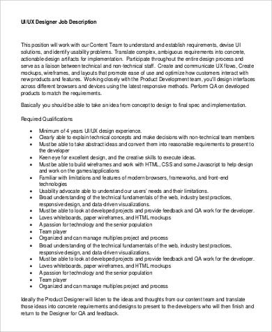 Interface Designer Job Description,Designer.Design