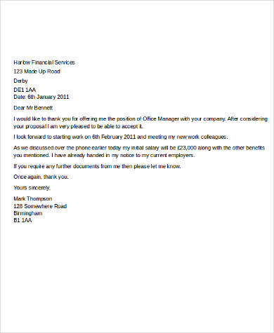 thank you letter for job offer - thelongwayup.info