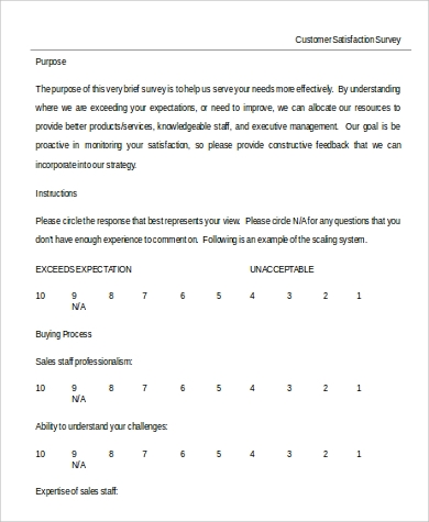 Customer Service Survey Template Word. Sample Survey Template In Word 9  Examples In Word . Customer Service Survey Template Word  Customer Survey Template Word