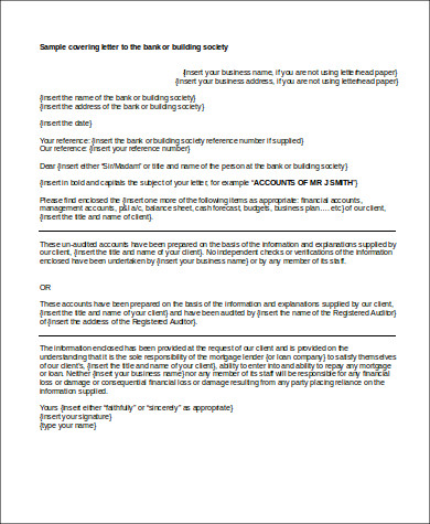 5 business plan cover letter samples sample templates
