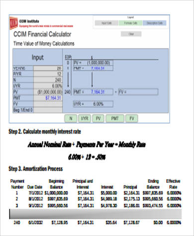 Online Mortgage Online Mortgage Amortization Calculator