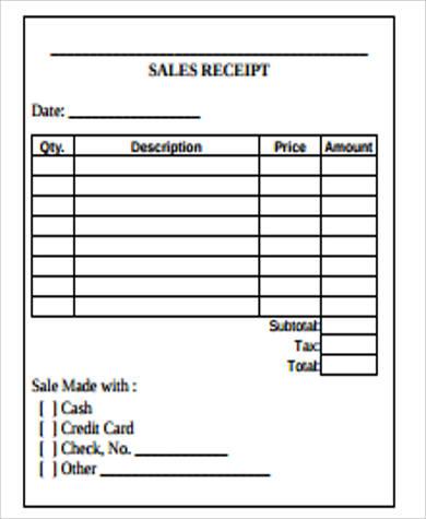 sales receipt pdf