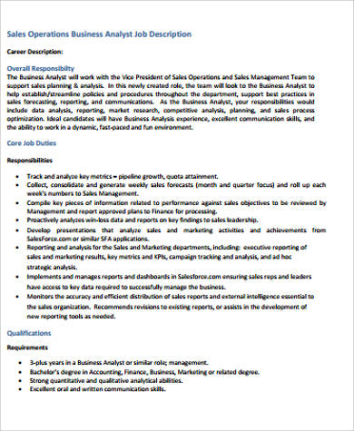 Research Analyst Job Description Sample   Examples In WordDf