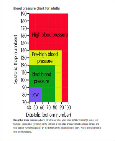 Sample Blood Pressure Chart In Pdf   Examples In Pdf