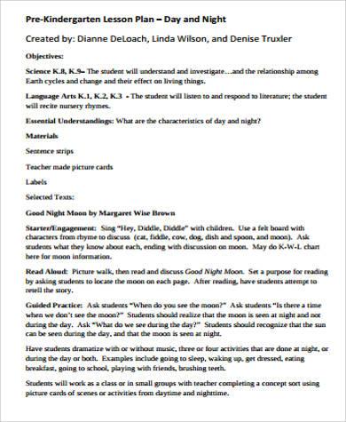 preschool music lesson plans pdf