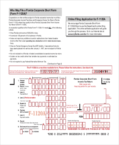 6 sample income tax extension forms sample templates