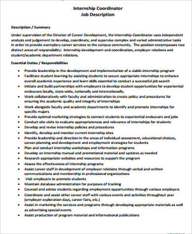it coordinator job description pdf